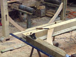 Hand Crafted Archtectural Roff Trusses
